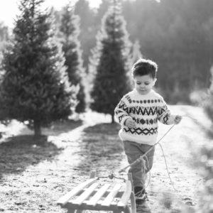 Mini kerstshoot Enya